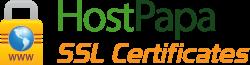 Certificats SSL de HostPapa
