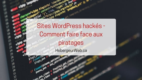 Sites WordPress Hackés