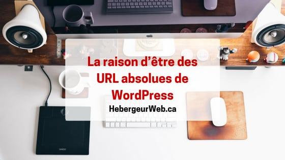 URL absolues de WordPress